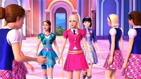 Videoclip musical de Barbie: Escuela de Princesas YouTube