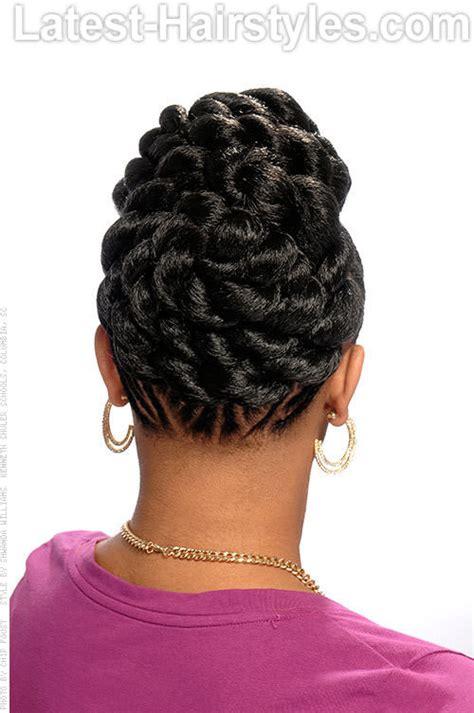 black goddess braids updo 2015 hairstyles weekly