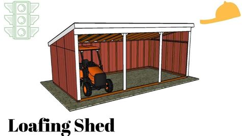 loafing shed plans free loafing shed plans garden plans scoop