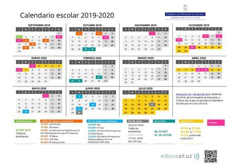 calendario escolar descargar fechas