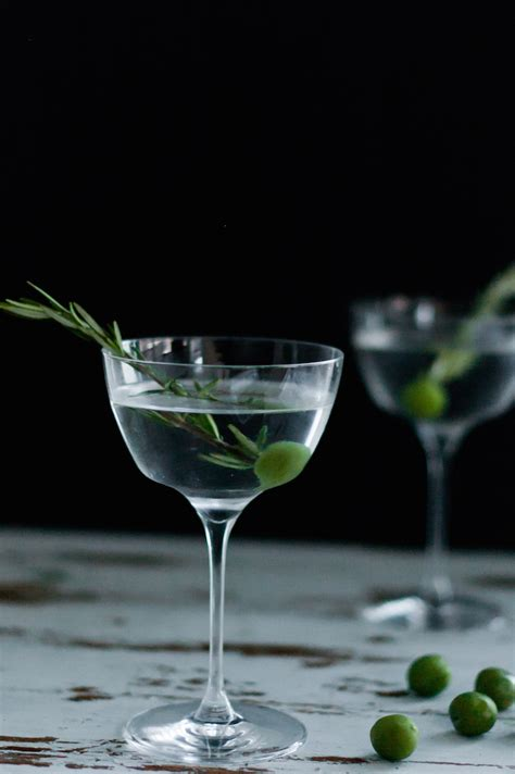 martini olive craft cocktails elsewhere smoked rosemary olive oil