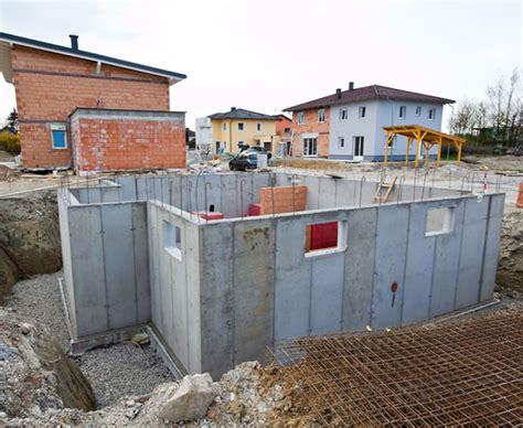 Kellerbau Aus Stein Oder Beton kellerbau aus stein oder beton bauen de