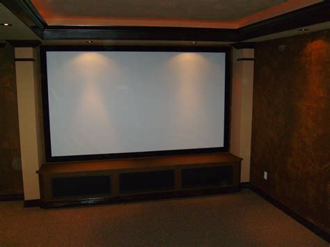 Media Rooms With Big Screen Tv  Interior Design Company