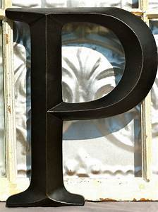 aqua blue large letter p sign letter wall decor oil With large initial wall letters