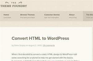 how to convert html to wordpress 3 tools resources wp With convert html template to wordpress theme online