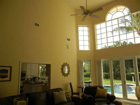 Painting Living Room High Ceilings by Decorating Ideas For A Living Room With High Ceilings