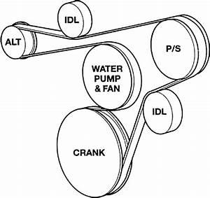 2001 Mercury Sable Serpentine Belt Diagram