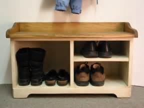 Foyer Bench With Shoe Storage by Shoe Cubby Entry Bench Storage Cabbies Wood Storage Bench
