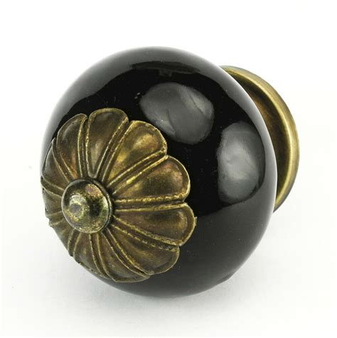 ceramic kitchen cabinet knobs and pulls 4 black drawer knobs kitchen ceramic cabinet pulls
