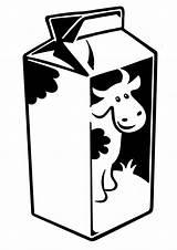 Milk Carton Coloring Cow Printable Preschool Colour Drawing Draw Dakota Netart Blueberry Visit sketch template