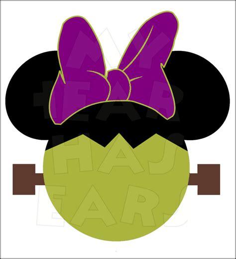 minnie mouse frankenstein instant  halloween