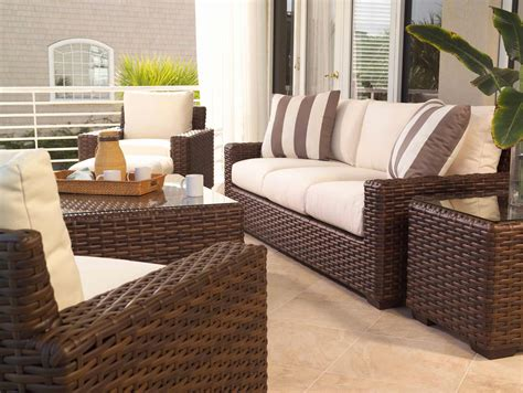 lloyd flanders contempo outdoor patio wicker conversation