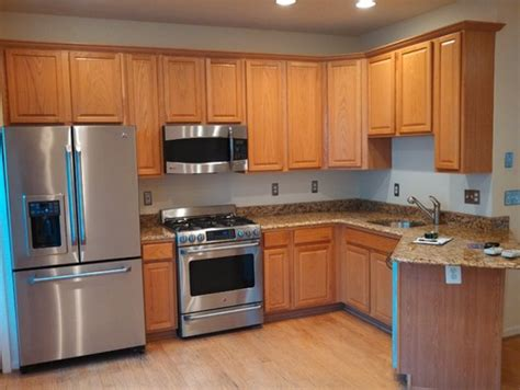 best hardware for oak cabinets kitchen cabinets oak to black