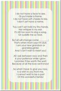 expecting mothers gifts pregnancy announcement poems to grandparents just b cause