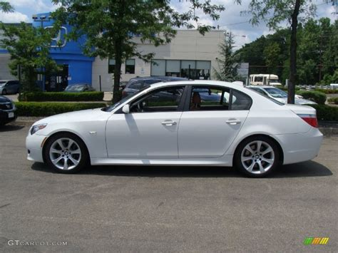 Bmw 550i by Alpine White 2006 Bmw 5 Series 550i Sedan Exterior Photo