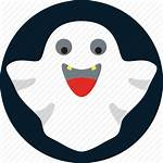 Ghost Halloween Icon Scary Pacman Horror Icons