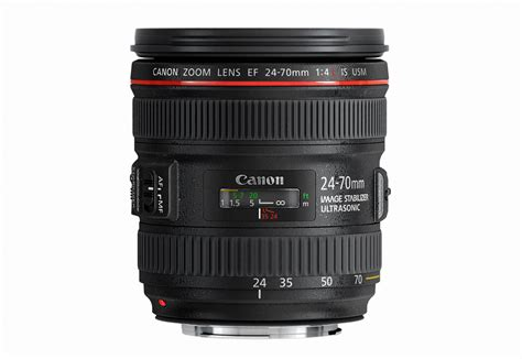 canon bolsters ef lens range with the ef 24 70 f 4l is usm what digital