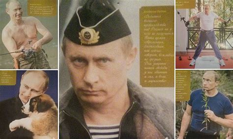 vladimir putin calendar features president years worth poses