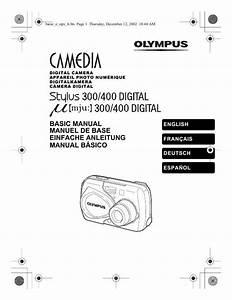 Multimetre Digital Mode D Emploi : notice olympus mju 300 digital appareil photo ~ Dailycaller-alerts.com Idées de Décoration