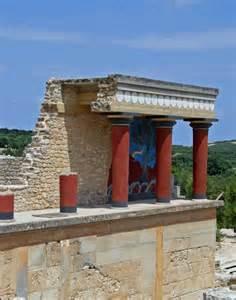 architektur griechenland architektur blauer himmel griechenland kreta antike palast bilder architektur blauer himmel