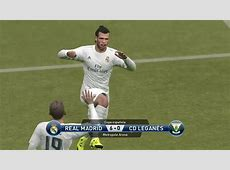 REAL MADRID VS CD LEGANES COPA DEL REY P#2 YouTube