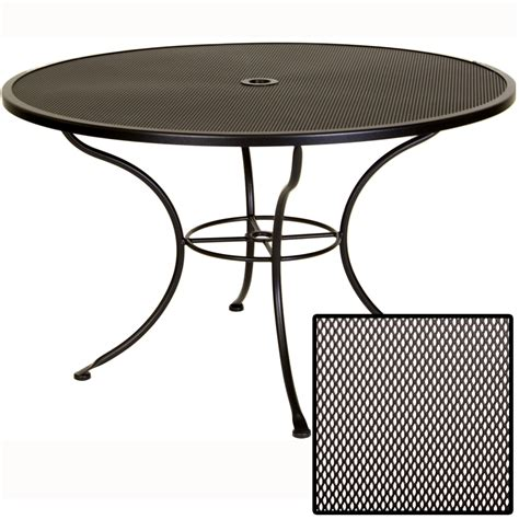 ow micro mesh 48 inch dining table 48 mmu