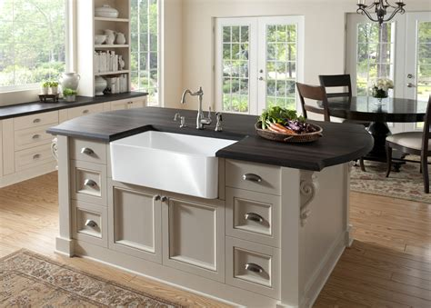 stainless steel kitchen islands apron front sink