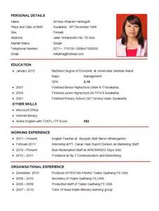 resume format for applying abroad resume sle sle resumes sle resumes sle resume