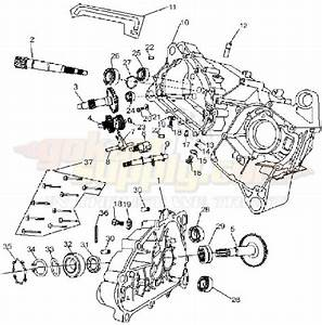 American Sportworks 7150 Go Kart Parts