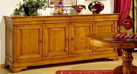 chambre merisier meuble bois massif salon et séjour buffet enfilade bahut