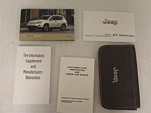 2017 Jeep Compass Owner U2019s Operator Manual User Guide Set