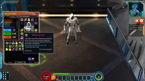 Marvel Heroes  Dr Doom God Emperor Costume Gameplay (with