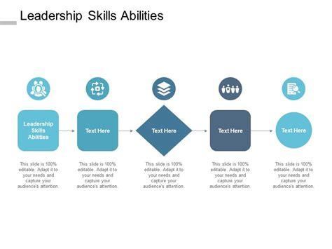 leadership skills abilities  powerpoint