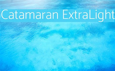 Catamaran Bold Free Font Download by Catamaran Extralight Font Comments Free Fonts Download