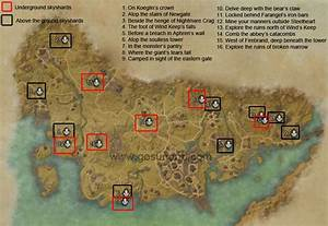 ESO Stormhaven Skyshards Locations Guide - Gosu Noob