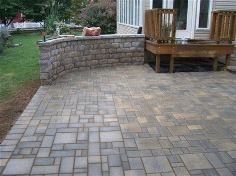 poured concrete patio and retaining wall home