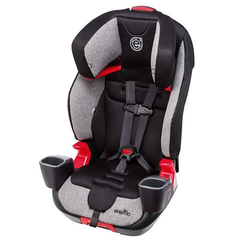 booster car seat review evenflo evolve  transitions
