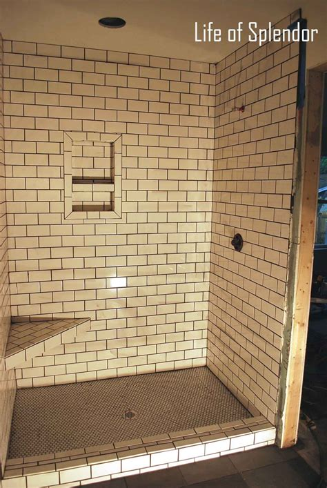 subway tile shower ideas 30 ideas for using subway tile in a shower