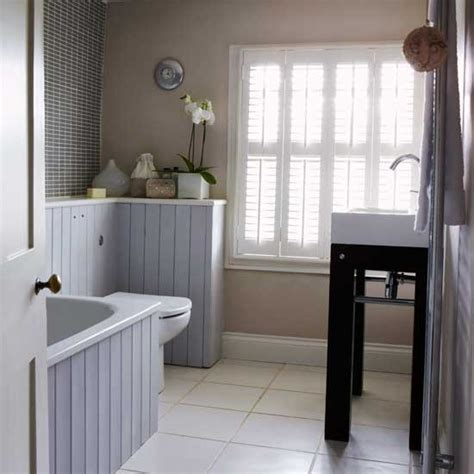 Grey And Beige Bathroom  Bathrooms  Design Ideas Image