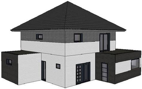 plan maison 4 chambres maison de 150 m 3 chambres toit 4 pentes