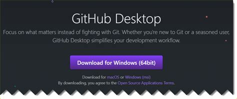 This application can start working just a few minutes after the first click for installation. Download and install GitHub for windows ('git' is not ...
