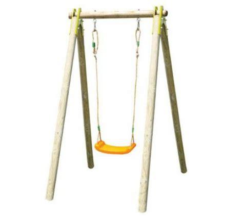 balancoir enfant balancoire une place bois abri de jardin et balancoire id 233 e