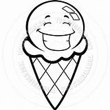 Ice Cream Clipart Cone Clip Scoop Sundae Panda Pages Scoops Coloring Printable Clipartpanda Clipartmag sketch template