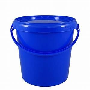 Eimer Mit Deckel 5l : kunststoffeimer 10 7 liter rund blau mit deckel und kunststoffb gel eimer ~ Watch28wear.com Haus und Dekorationen