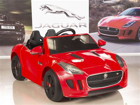 Ride On Car Kids Jaguar F-type 12v Battery Power Wheels Rc