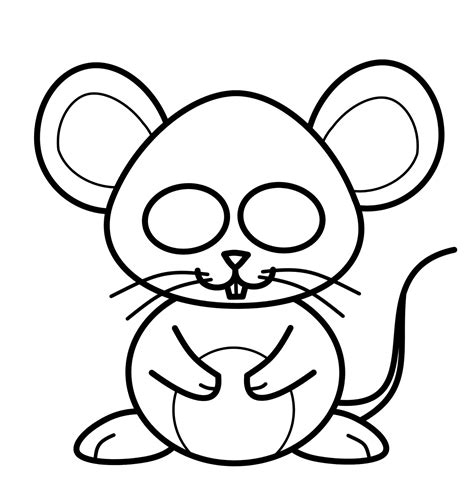 draw cartoons mouse