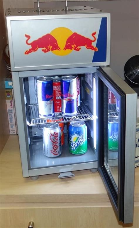 red bull mini refrigerator counter top fridge  fit