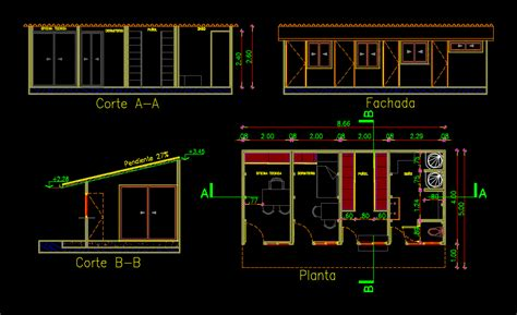 simple plane obrador  dwg block  autocad designs cad