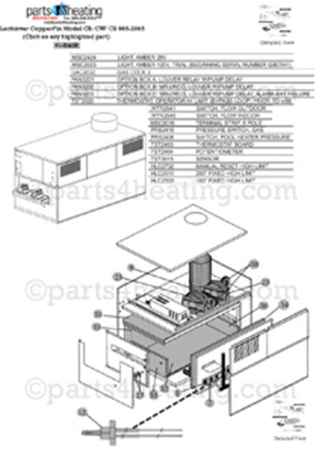 Lochinvar Wiring Diagram by Parts4heating Lochinvar Copper Fin Cb 1435 Hydronic