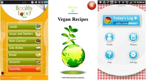 application android cuisine food apps for bada and android phones updated
